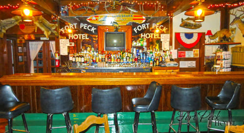 Fort Peck Hotel Bar