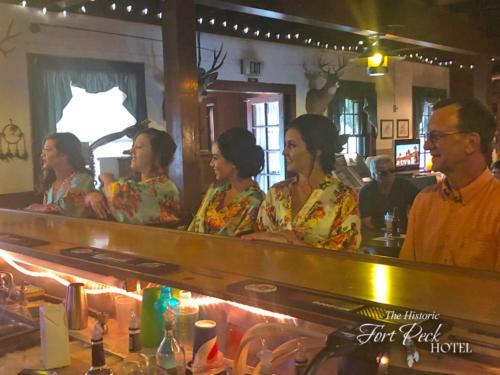 Fort Peck Hotel Bar